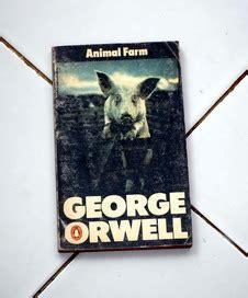 Buku Animal Farm George Orwell new york bale buku bekas used bookstore