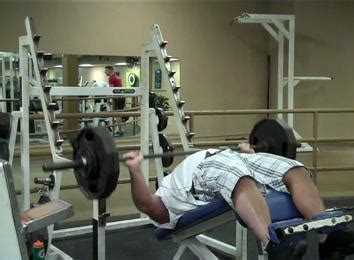 70 pound dumbbell bench press most decline bench press reps with a 240 pound barbell
