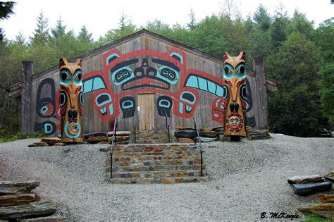 vintage homes of the northwest books tlingit clan house saxman alaska
