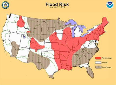 flood map noaa national oceanic and atmospheric administration current major flooding in u s a sign
