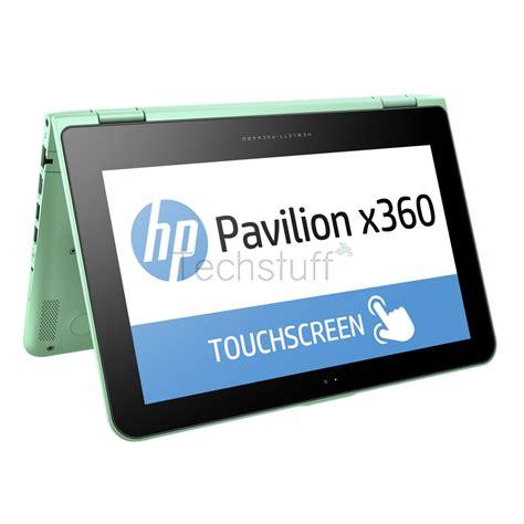 Notebook Hp Pav Conv 11 K028tu jual beli hp pavilion x360 convertible 11 k028tu touch screen minty green baru laptop hp