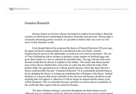 genetics research paper how to write an essay introduction for genetics research paper