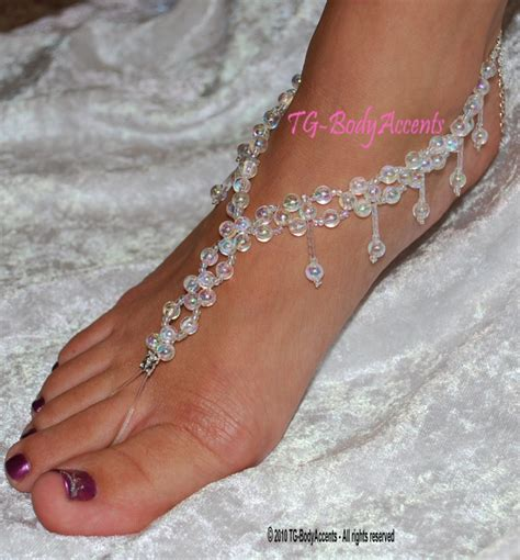 how to make foot jewelry sandals make barefoot sandals foot jewelry
