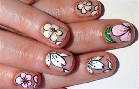 imagenes de uñas pintadas a mano faciles dise 241 os de u 241 as a mano alzada u 241 asdecoradas club
