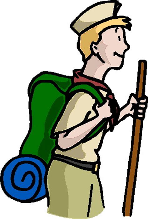 clipart scout scouting clip