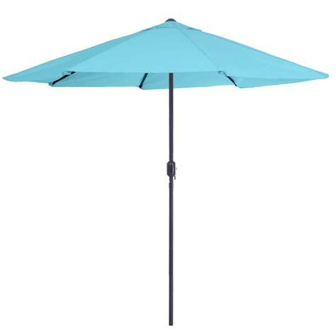 Garden 9 Ft Aluminum Patio Umbrella With Auto Crank Pure Garden 9 Ft Aluminum Patio Umbrella With Auto Crank