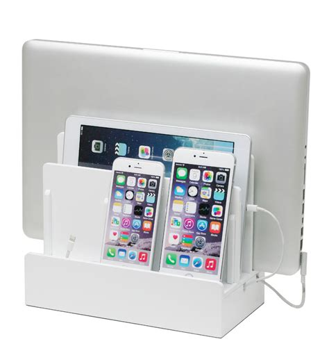 device charging station great useful stuff high gloss multi device charging
