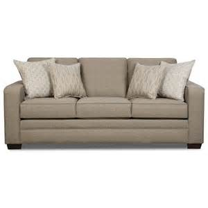 simmons upholstery 9065 transitional sofa with track arms