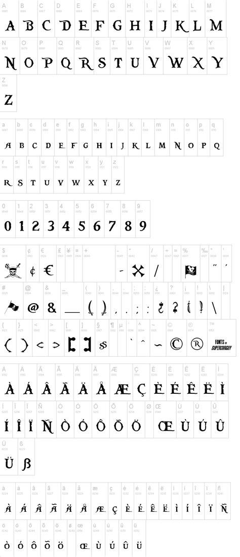 Pieces of Eight | dafont.com
