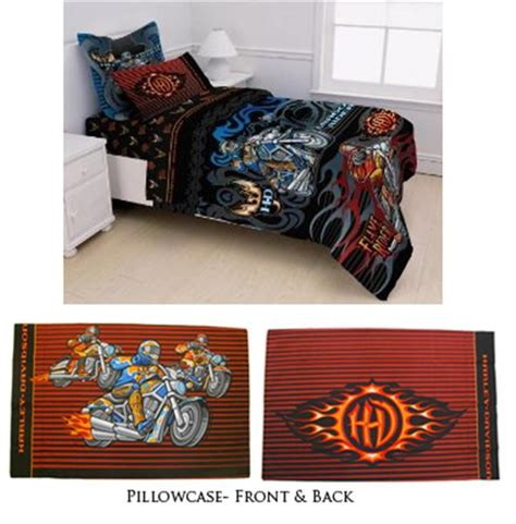 harley davidson crib bedding harley davidson young riders bedding sheet set pillowcase