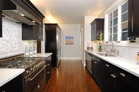 ideas for a galley kitchen galley kitchen remodels what to do to maximize your
