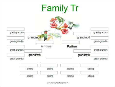 family template family tree templates free premium creative template