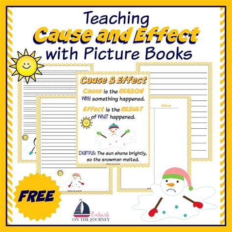 teaching cause and effect with picture books teaching cause and effect with picture books
