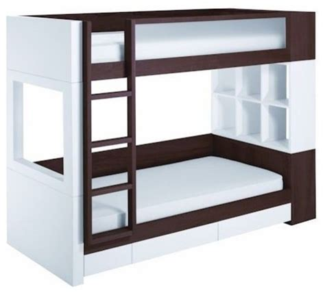 Nurseryworks Bunk Bed Nurseryworks Duet Bunk Bed W Storage Contemporary Bunk Beds By Atoz Stores