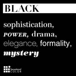 color black meaning best 25 black color quotes ideas on wearing