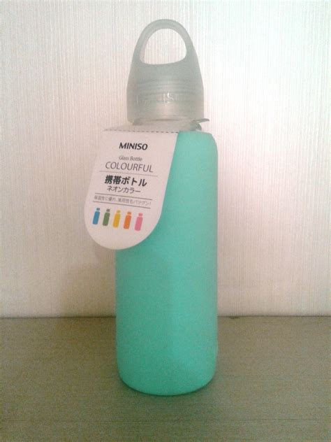 Jual Botol Minum Miniso by Sell Bm1 Botol Minum Kaca Miniso Hijau From Indonesia By