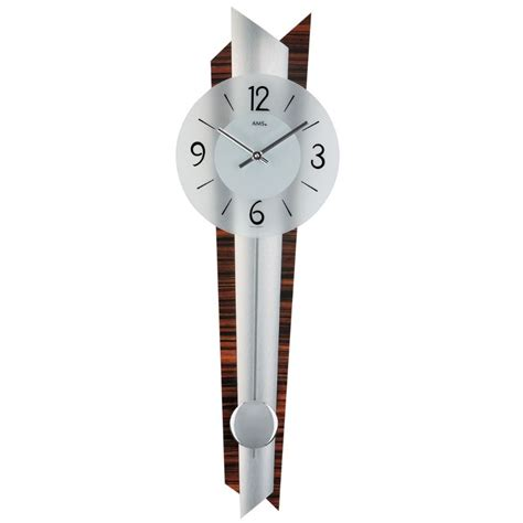 stylish wall clocks ams 7311 stylish modern wall clock