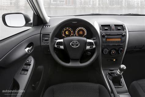 Toyota Corolla 2010 Interior by Toyota Corolla Specs 2010 2011 2012 2013 Autoevolution