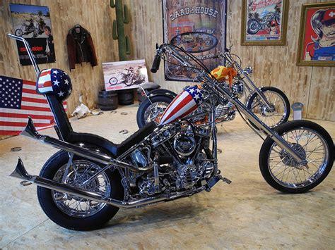 Motorrad Captain America Film by Easy Rider Harley Davidson
