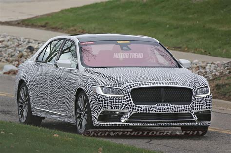 Lincoln Continental Prototype by Spied Lincoln Continental Prototype Looks A Lot Like The