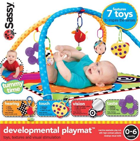 Sassy Baby Play Mat by Sassy Infant S Developmental Play Mat Baby Baby Toys