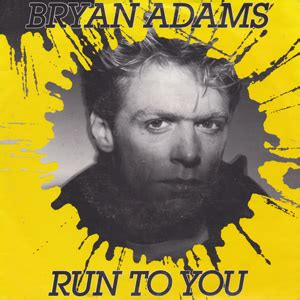 run to you bryan adams run to you records lps vinyl and cds