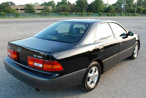 lexus es300 back 1999 lexus es300 4d luxury sedan black leather