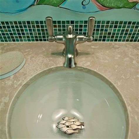 bathroom sink drain cover creative so cute and house on pinterest