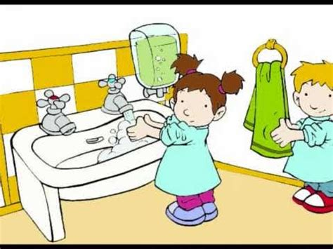 imagenes animadas lavandose las manos imagenes animadas de la higiene personal imagui