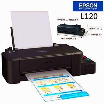 Printer Paling Murah harga printer epson l120 jual printer epson l120 murah dan spesifikasinya glodok printer
