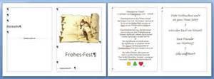 Word Vorlage Klappkarte Gru 223 Karten Oder Einladungen In Word 2007 2010 Ist Auch Lebensqualit 228 T
