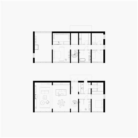 wall homes floor plans six walls house arrhov frick arkitektkontor archdaily