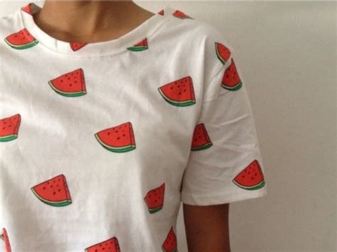cute pattern shirts t shirt white watermelon watermelon shirt pattern