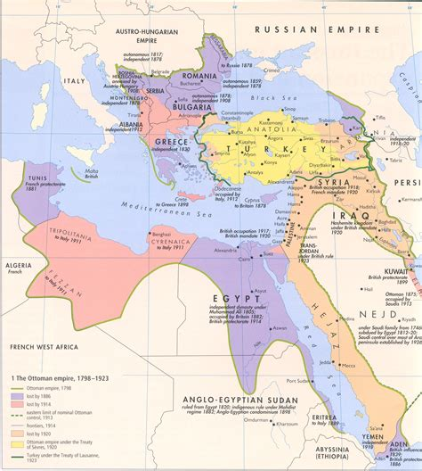 the ottoman empire was ruled by historical maps of the islamic world