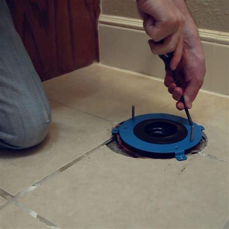 Closet Flange Installation by Hydroseat Flange Repair Danco