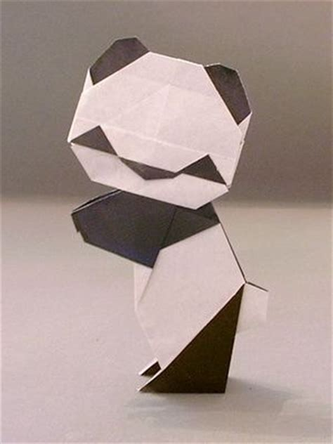 How To Make Origami Panda - origami panda awwwww wish i knew how to make this for