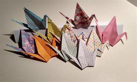 origami crane wedding decoration origami cranes printed cranes cranes