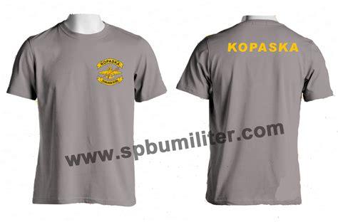 Kaos Logo Kopaska Limited Stok kaos kopaska komando pasukan katak spbu militer