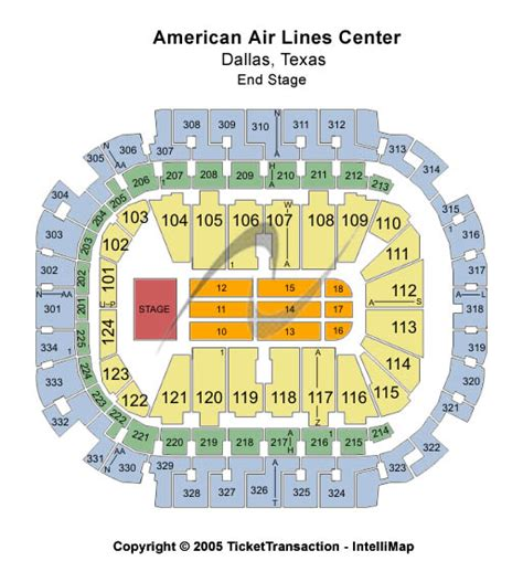 american airlines center seat map american airlines center seating chart dallas