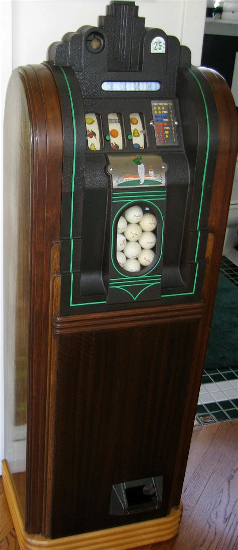 golf ball slot machine golfball vendor jennings sportsman