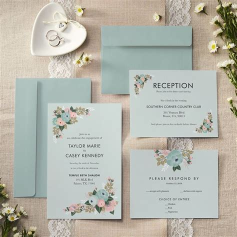 vistaprint wedding invitations envelopes custom wedding invitations announcements vistaprint