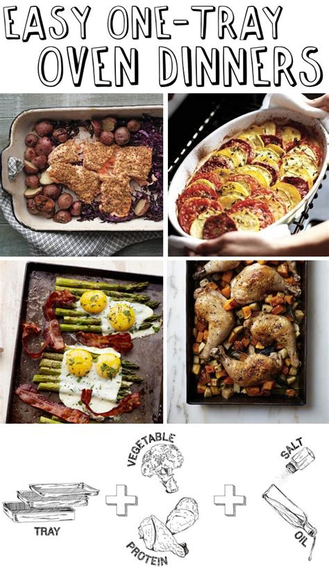 mad cool approved 30 easy one tray oven dinners mad