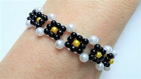 simple beaded bracelets to make easy beading pattern how to make a bracelet beginners diy