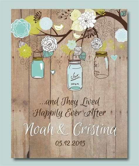 1st Anniversary Gift, Personalized Wedding gift, Mason Jar