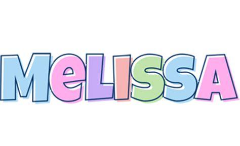 name style design melissa logo name logo generator candy pastel lager