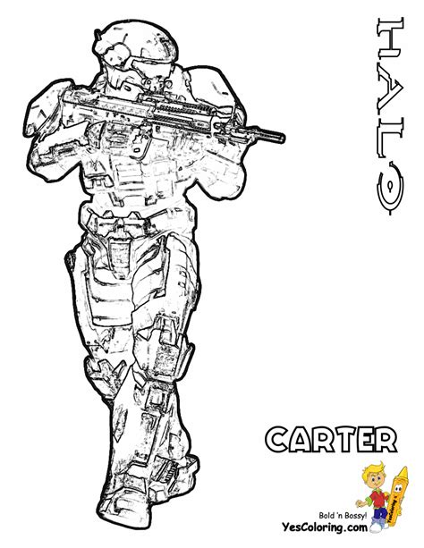 coloring pages halo reach coloring pages