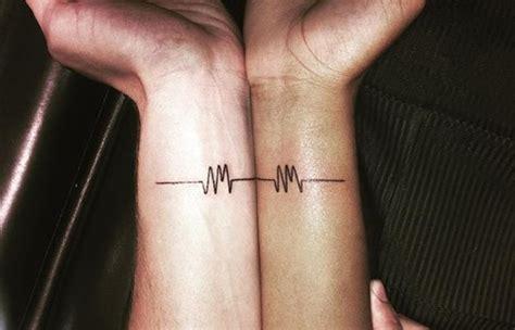 couple line tattoo 160 emotional lifeline tattoo that will speak directly to