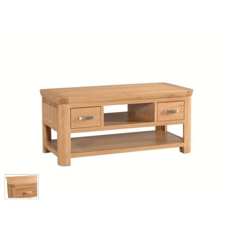 Annaghmore Treviso Oak Storage Coffee Table Annaghmore Oak Coffee Tables With Storage