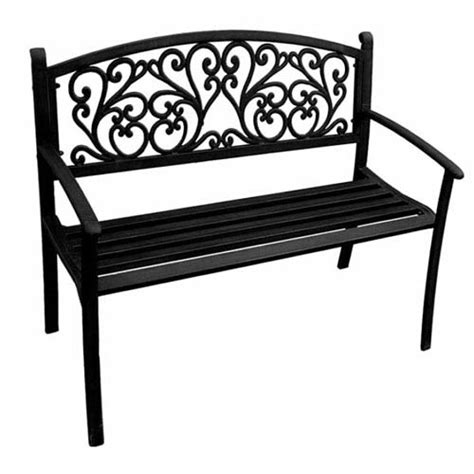 bench manufacturing company steel benches black scroll park bench jordan manufacturing