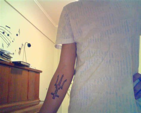poseidon trident tattoo poseidon s trident by lebonnel on deviantart